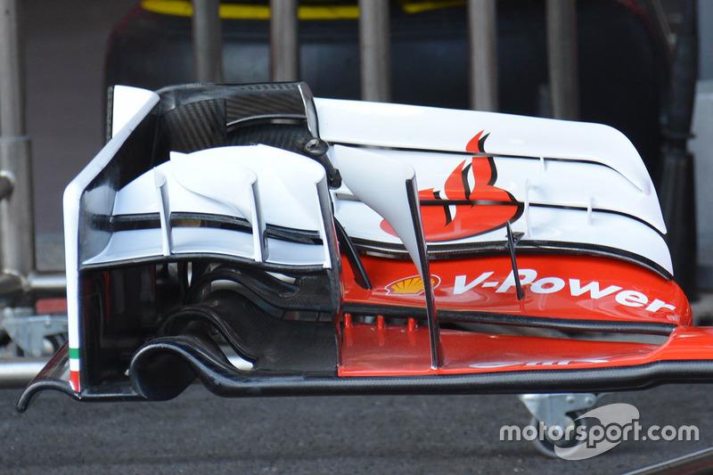 Переднє антикрило Ferrari