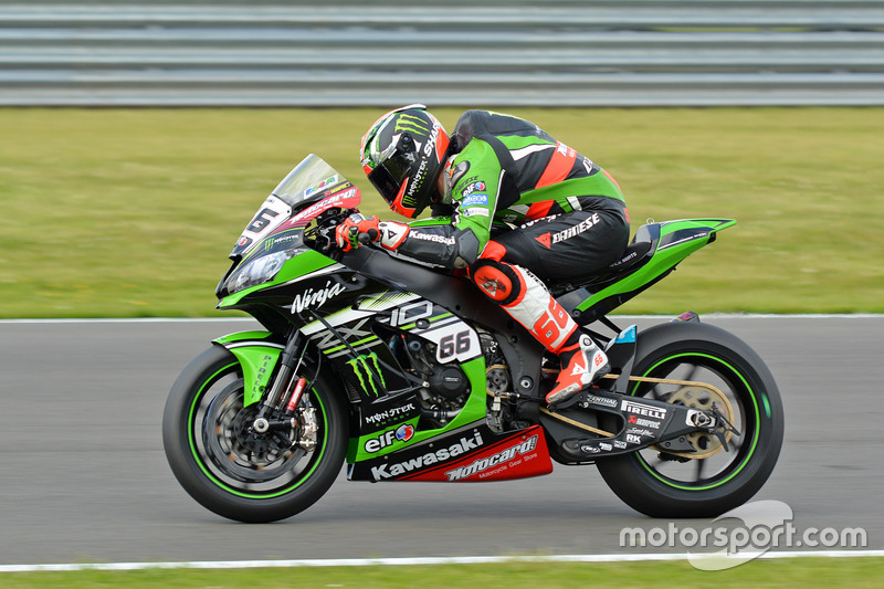 Tom Sykes, Kawasaki Racing Team at Donington Park
