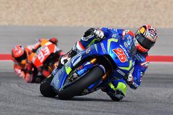 Maverick Viñales, Team Suzuki MotoGP und Marc Marquez, Repsol Honda Team