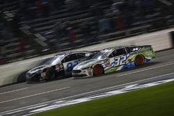 Joey Gase, Go Green Racing Ford, Jeffrey Earnhardt, BK Racing Toyota