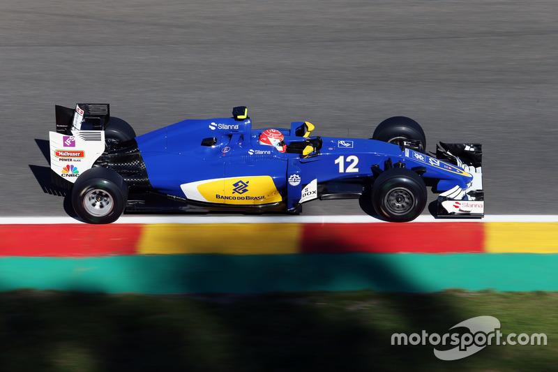 17. Felipe Nasr, Sauber C35