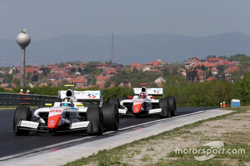 Beitske Visser, Teo Martin Motorsport; Yu Kanamaru, Teo Martin Motorsport