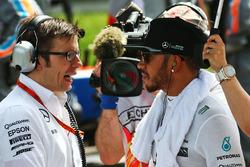 Льюис Хэмилтон, Mercedes AMG F1 Team на стартовой решетке