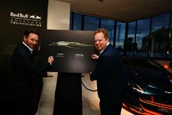 Andy Palmer, Geschäftsführer Aston Martin und Christian Horner, Red Bull Racing Teamchef