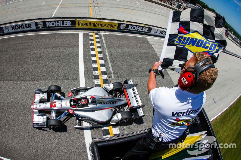 3. Will Power, Team Penske Chevrolet se lleva la victoria