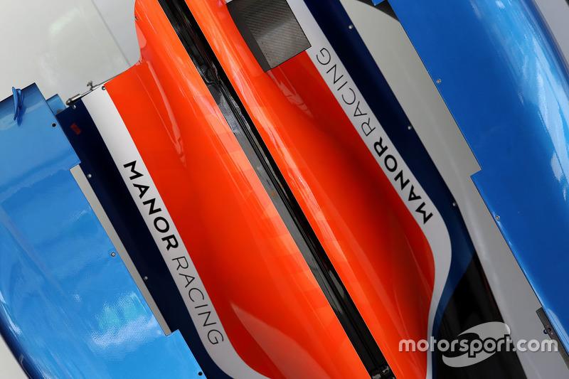 Detail des Manor Racing MRT05
