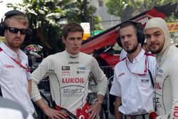 James Nash, Seat Leon Team Craft-Bamboo LUKOIL; Sergey Afanasyev, SEAT León, Team Craft-Bamboo LUKOI