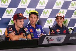 Dani Pedrosa, Repsol Honda Team, Valentino Rossi, Yamaha Factory Racing, Marc Marquez, Repsol Honda Team