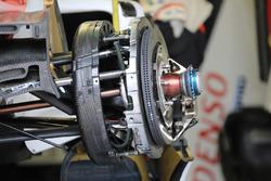 Toyota Gazoo Racing Toyota TS050 Hybrid detalle de freno