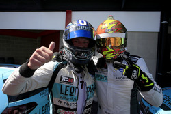 Jean-Karl Vernay, Leopard Racing Team WRT, Volkswagen Golf GTi TCR; Rob Huff, Leopard Racing Team WR