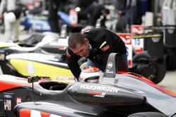 Max Verstappen, Van Amersfoort Racing Dallara F312 - Volkswagen con su padre Jos Verstappen