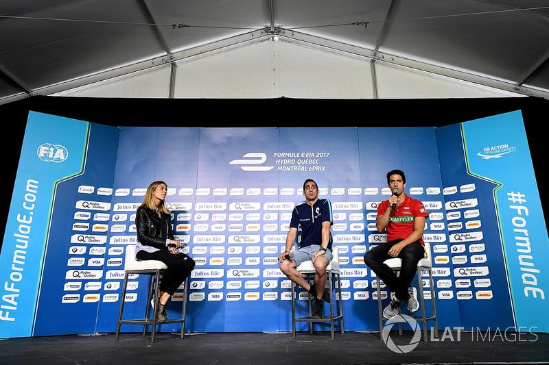Sébastien Buemi, Renault e.Dams y Lucas di Grassi, ABT Schaeffler Audi Sport
