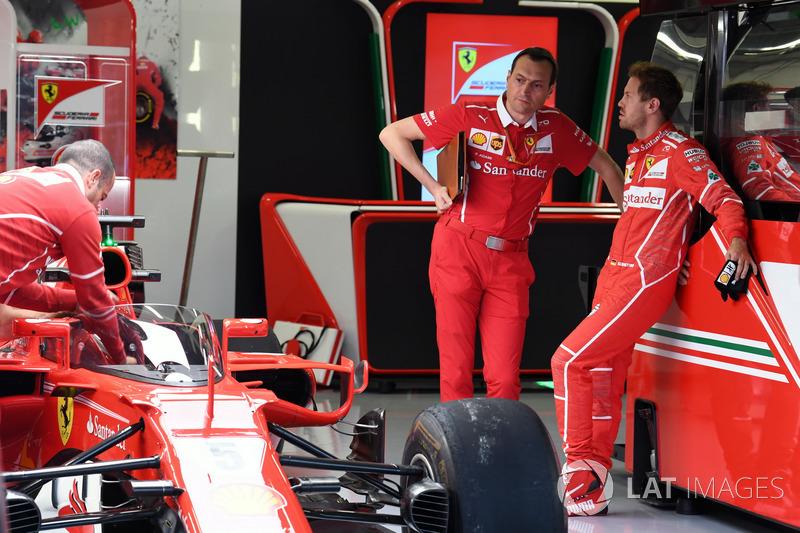 Sebastian Vettel, Ferrari, Riccardo Adami, Ferrari