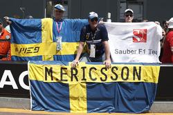 Marcus Ericsson, Sauber fans