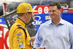 Kyle Busch, Joe Gibbs Racing Toyota, Steve O'Donnell