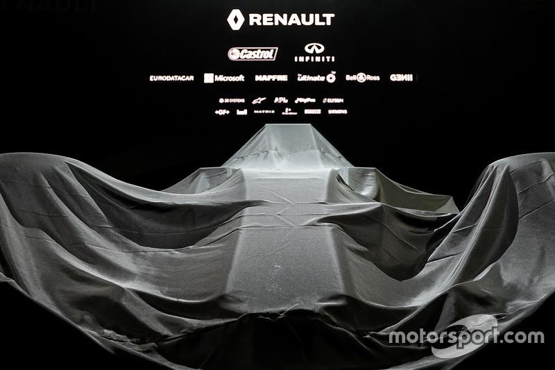 Болід Renault Sport F1 Team RS17