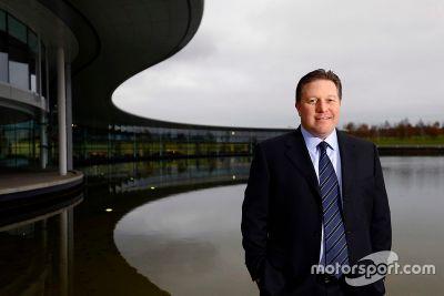 Zak Brown McLaren bejelentés