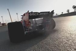 Défaillance moteur de la McLaren
