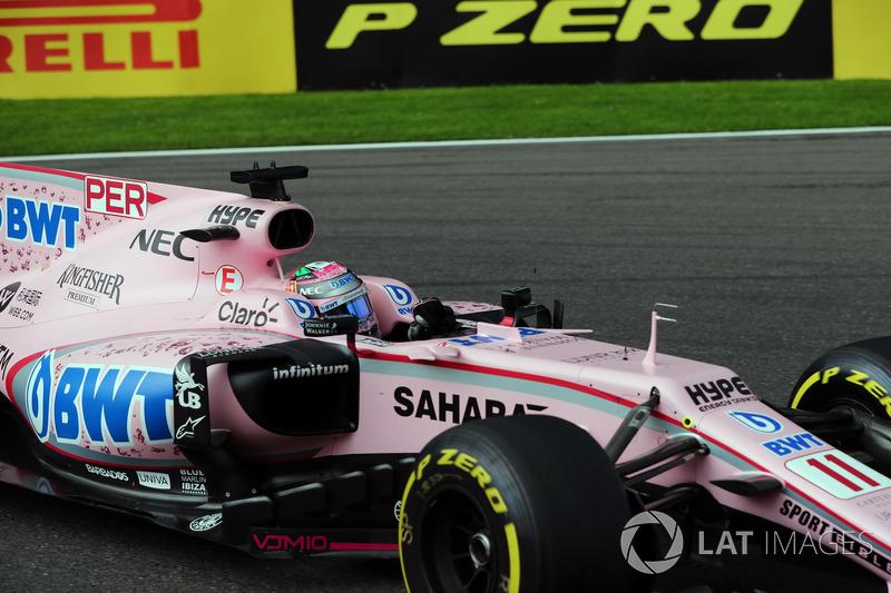 7. Серхіо Перес, Force India — 56