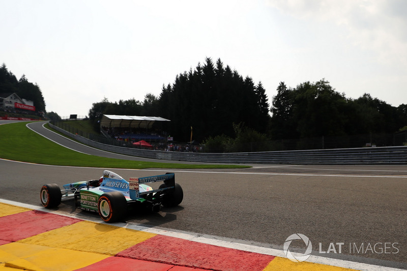 Mick Schumacher im Benetton B194-5