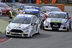 Heiko Hammel, Wolf Racing e Milenko Vukovic, Audi A3
