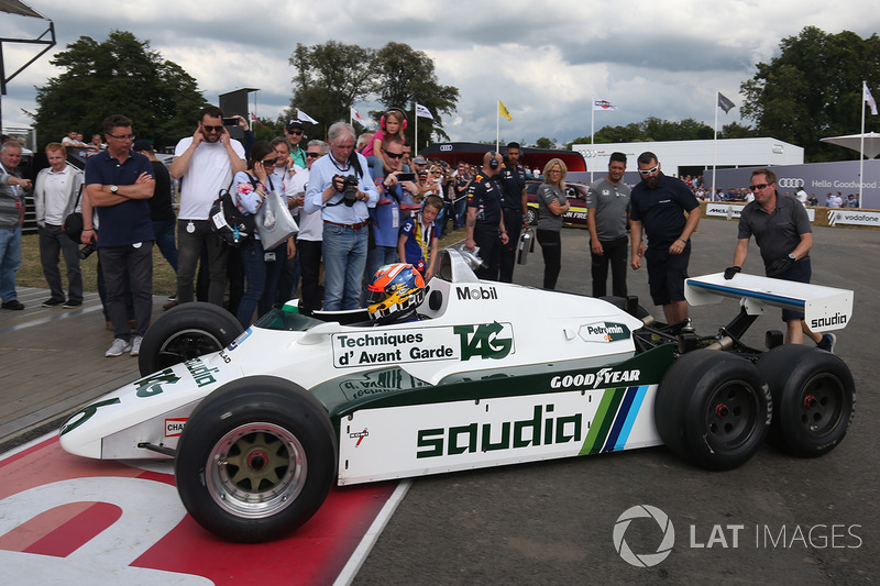 Karun Chandhok, Williams FW08B 6 wheeler