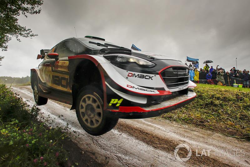 2. Elfyn Evans, Daniel Barritt, Ford Fiesta WRC, M-Sport