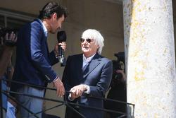 Mark Webber and Bernie Ecclestone