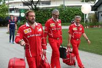Gino Rosato, Ferrari and Maurizio Arrivabene, Ferrari Team Principal