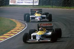 Nelson Piquet, Williams FW11, Nigel Mansell, Williams FW11