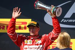 Podyum: 2. Kimi Raikkonen, Ferrari