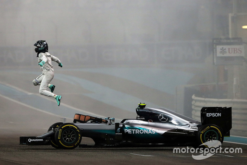 World champion Nico Rosberg, Mercedes AMG F1 W07 Hybrid