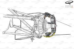 Brembo front brake caliper