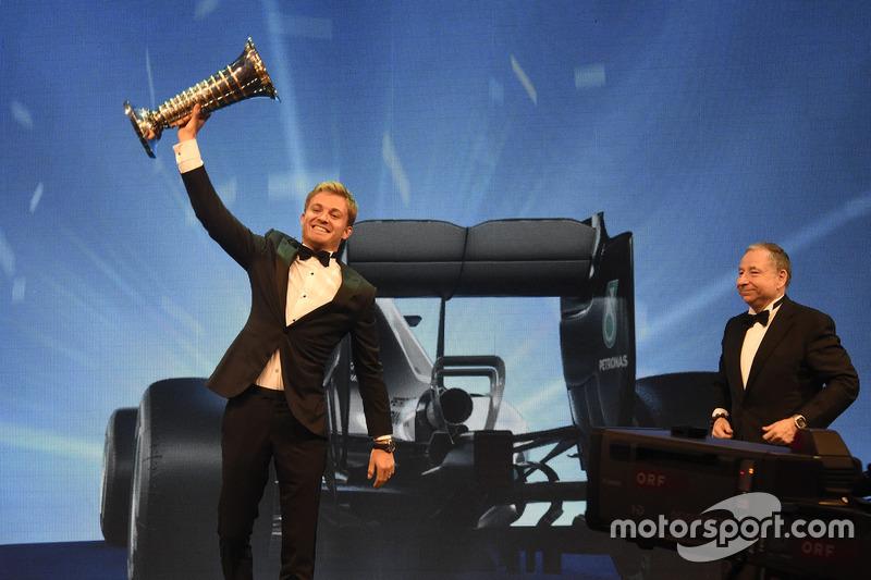 Campeón del mundi de Fórmula 1 Nico Rosberg