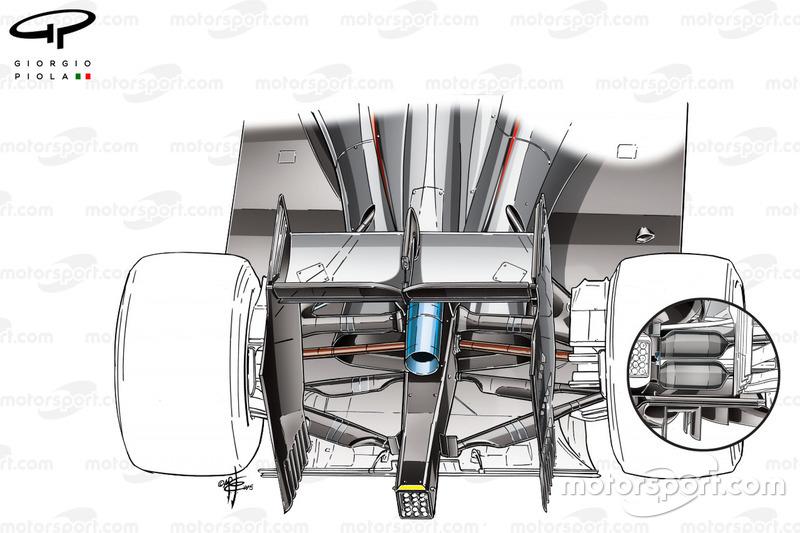 """مقارنة نظام التعليق الخلفي لسيارة مكلارين """"ام.بي4/30"""""""