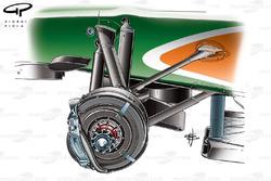 Force India VJM03 front brakes