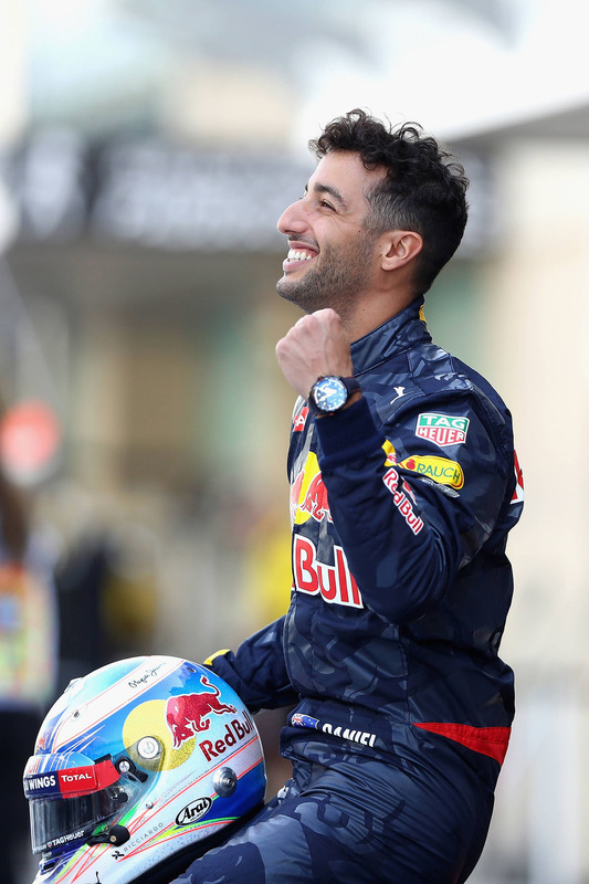 Daniel Ricciardo, Red Bull Racing beim Teamfoto