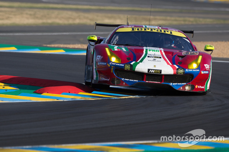 4. GTE-Pro: #71 AF Corse, Ferrari 488 GTE