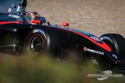 Formel-V8-Test in Jerez, März