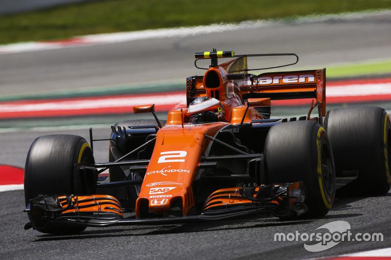 13 місце — Стоффель Вандорн (Бельгія, McLaren) — коефіцієнт 501,00