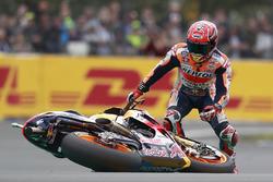 Choque de Marc Márquez, Repsol Honda Team