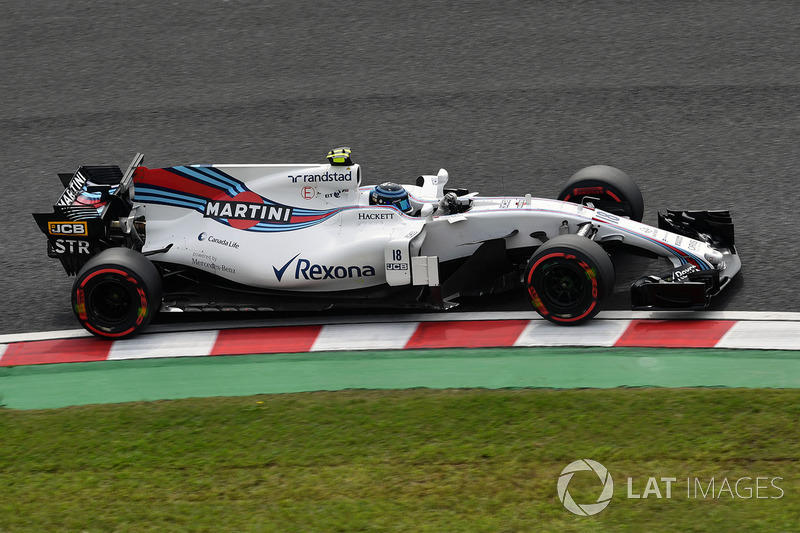 15: Lance Stroll, Williams FW40