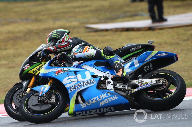 Жоанн Зарко, Monster Yamaha Tech 3, Алекс Рінс, Team Suzuki MotoGP