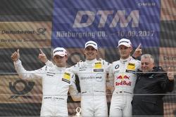 Podium: 1. Robert Wickens, Mercedes-AMG Team HWA, Mercedes-AMG C63 DTM, 2. Paul Di Resta, Mercedes-AMG Team HWA, Mercedes-AMG C63 DTM, 3. Marco Wittmann, BMW Team RMG, BMW M4 DTM