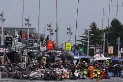 Will Power, Team Penske Chevrolet, Josef Newgarden, Team Penske Chevrolet, Helio Castroneves, Team P