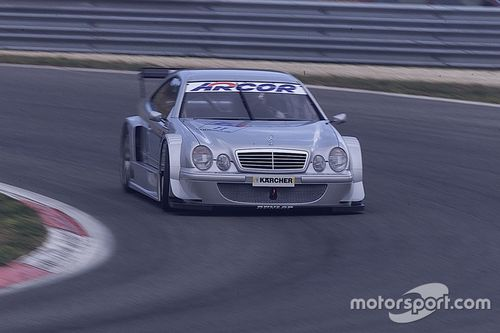 Vallelunga Mercedes-Benz test