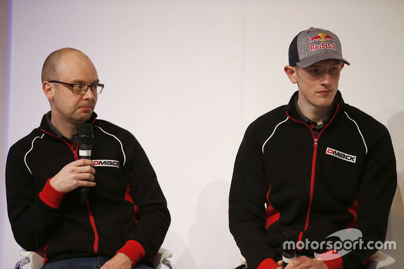 Elfyn Evans, Daniel Barritt, DMACK World Rally Team