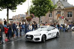 Loic Duval, Audi Sport Team Phoenix, Audi RS 5 DTM en the Audi RS5 Safety car