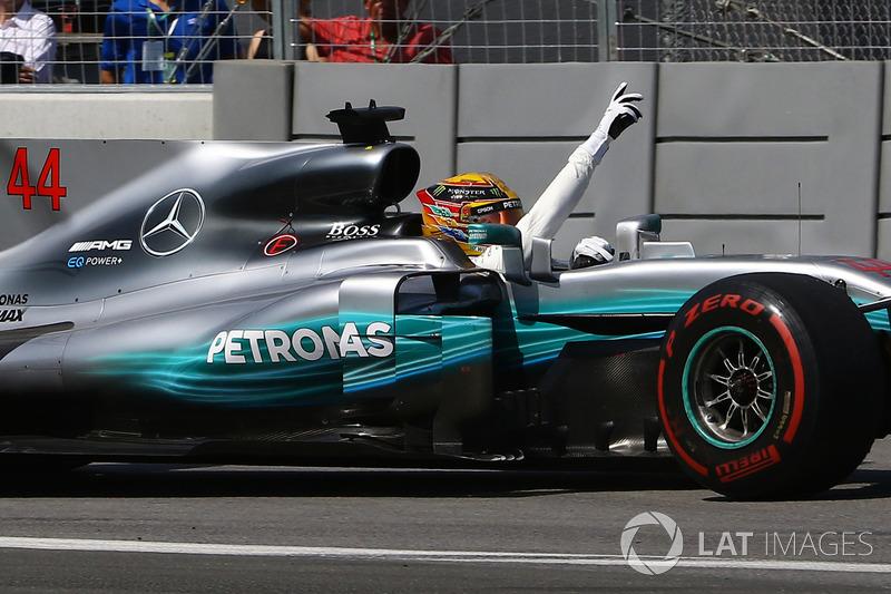 Lewis Hamilton - Grand Prix du Canada (six victoires)