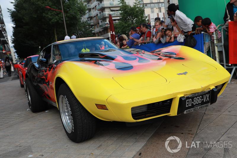 Vintage Corvette car